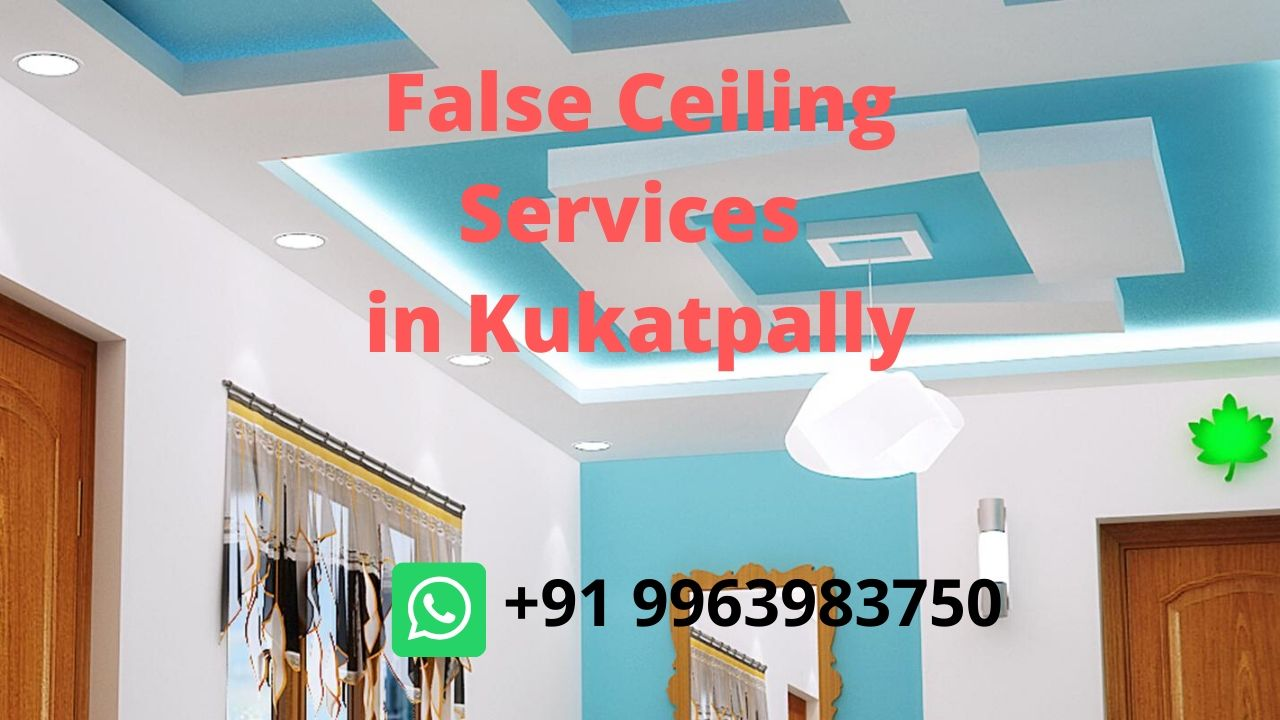 house and residential false ceiling design services in kukatpally