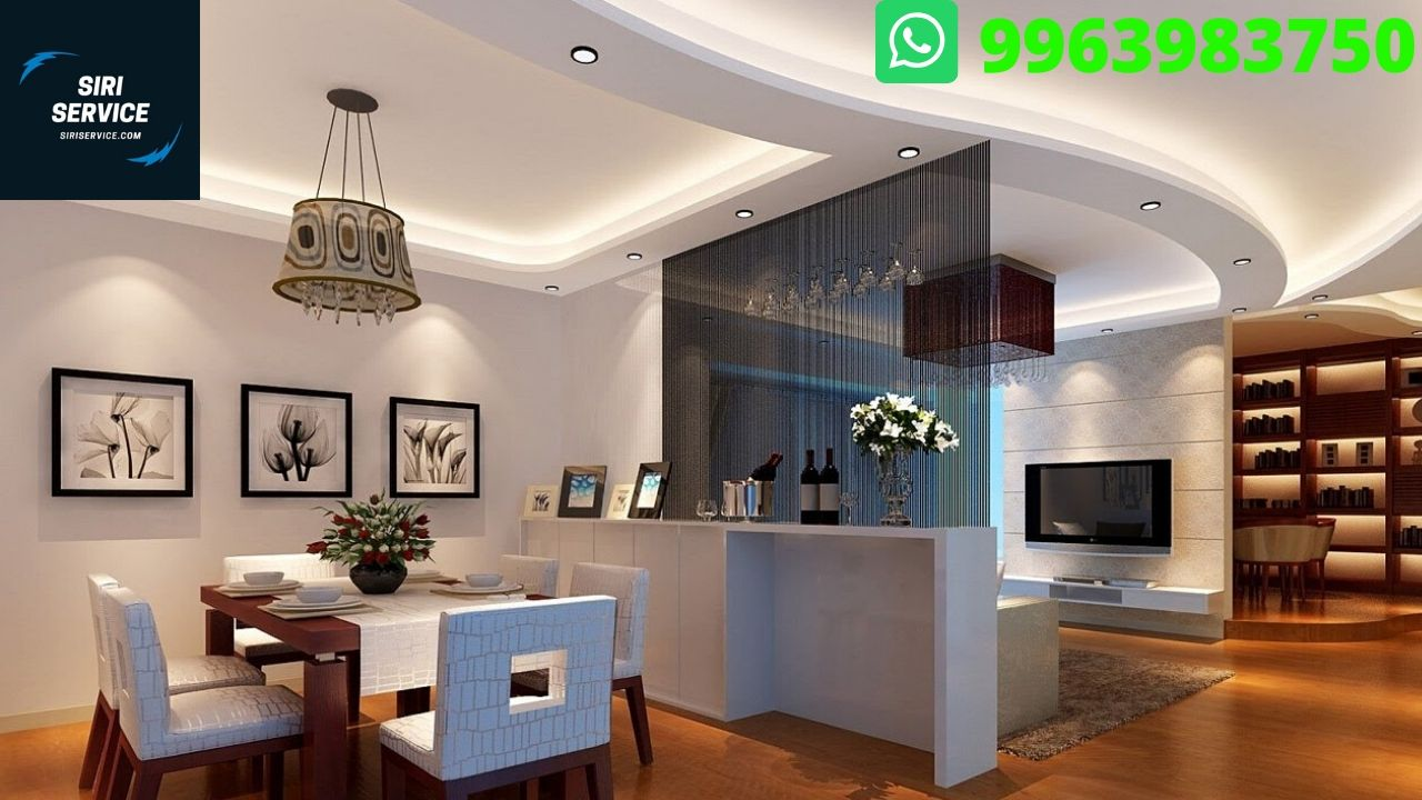 False Ceiling Fitting Design And Installation Services In Hyderabad