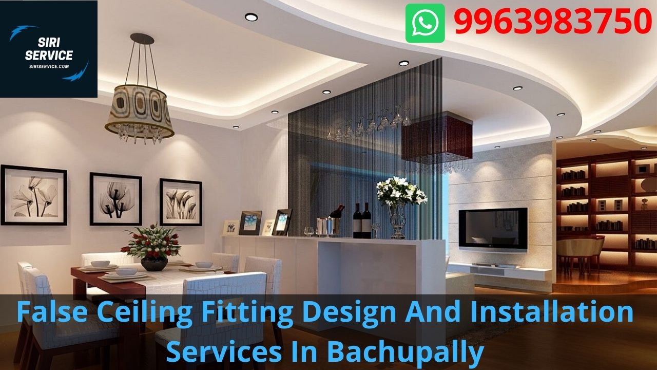 False Ceiling Fitting Design And Installation Services In Bachupally